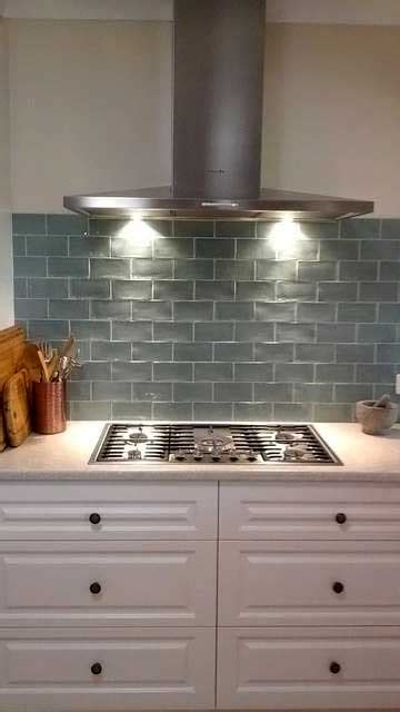 tiled splashback ideas for kitchen stunning subway tile splashback and more kitchen 8509