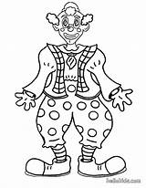 Clown Coloring Pages Face Printable Circus Clowns Print Scary Creepy Smiling Colouring Sheets Happy Funny Popular Coloringhome Colorings sketch template