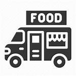 Truck Icon Transportation Restaurant Commerce Transport Fast