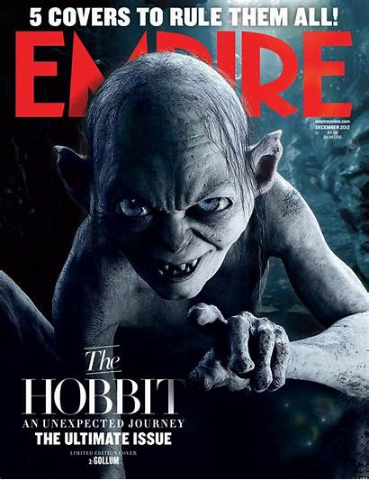 Hobbit Empire Covers Gollum Bilbo Galadriel Gandalf