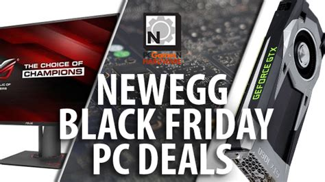 newegg black friday pc deals rx 470 and hitman for 160