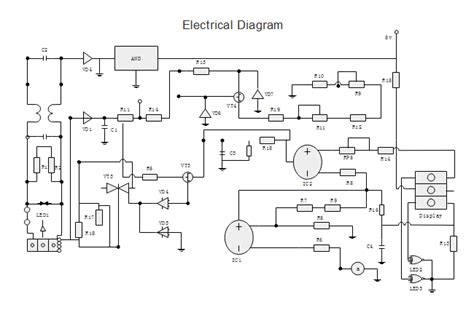 electrical diagram free electrical diagram templates