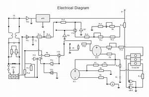 Electrical Drawing Sketch