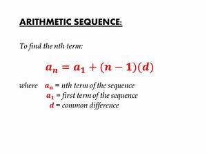 Arithmetic Sequence | IGCSE at Mathematics Realm