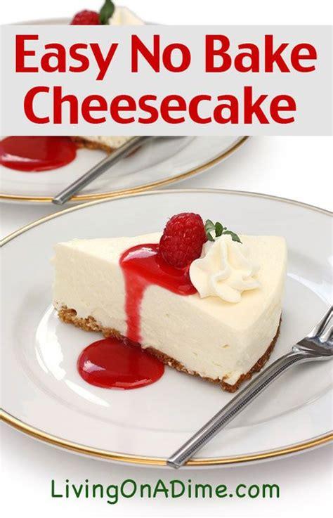 easy no bake recipes the 25 best easy no bake cheesecake ideas on pinterest no bake cheesecake no bake cheesecake