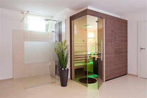 Infrarot Sauna Für Zuhause by Sauna Im Bad Integrieren Wohn Design