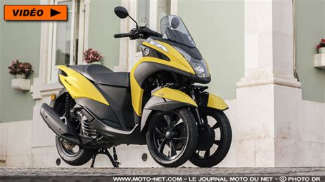 scooter 3 roues 125 3 roues le scooter 3 roues yamaha tricity 125 233 volue en profondeur pour 2017
