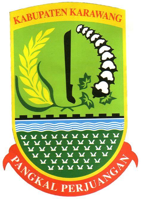 arti  makna logo kabupaten karawang karawang jawa