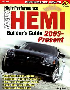 Hemi Builder U0026 39 S Guide Book High Performance Manual Engine