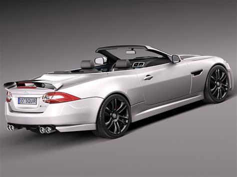jaguar xkr  convertible   model max obj ds fbx