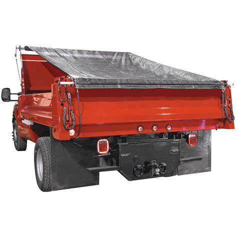 truckstar dump tarp roller kit ft  ft mesh tarp