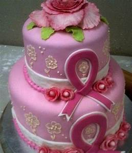 Breast Cancer Awareness cake :) | Pink...for Mum ...