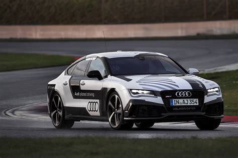 Audi Rs 7 Piloted Driving Concept Tackles Hockenheim