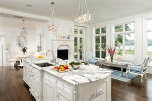 u shaped kitchen layout with island white kitchen cabinets