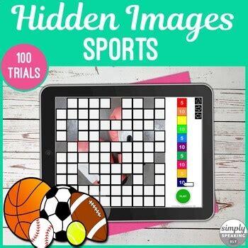 sports   trials  print hidden images game