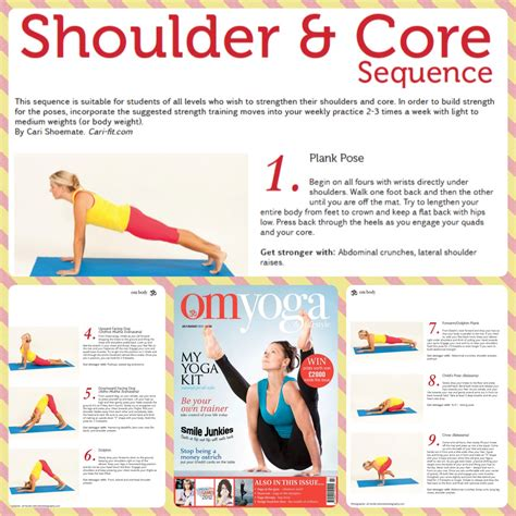 tone  shoulders  core  caris yoga workout