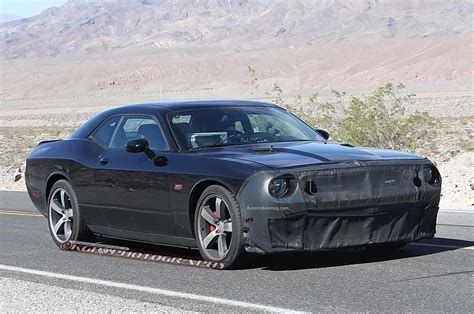 Challenger Hellcat by Supercharged Dodge Challenger Srt8 Hellcat Spied