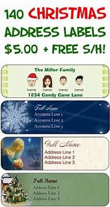 49 best images about christmas addressing envelopes on With christmas address labels free shipping