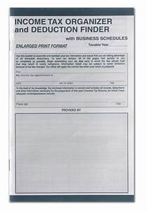 Record Mileage Cs 125 Enlarged Tax Organizer W Business Schedules