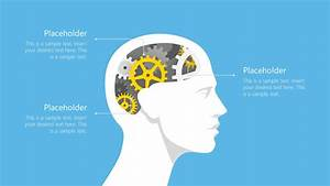 Gears And Human Head Powerpoint