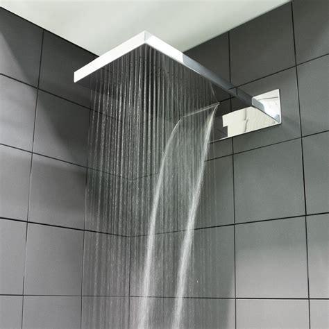 soffione doccia a cascata soffione doccia terra pioggia cascata