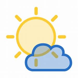 5 Weather Channel Mostly Sunny Icon Images - Mostly Sunny ...