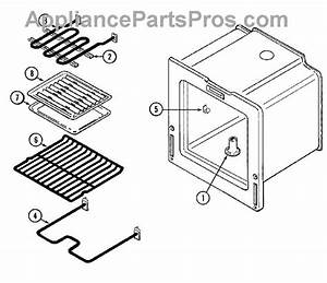 Parts For Magic Chef 3510kpa  Oven Parts