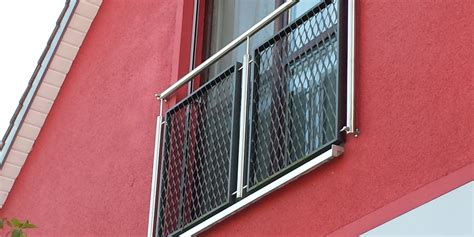 geländer für terrasse gel 228 nder metallbau hochreuther