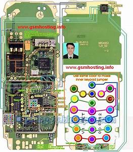 Cellfirmware  Nokia 1110 Layout Diagram Of Whole Board