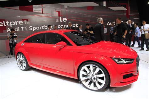 audi tt sportback concept le tt tir 233 en direct du salon de 2014