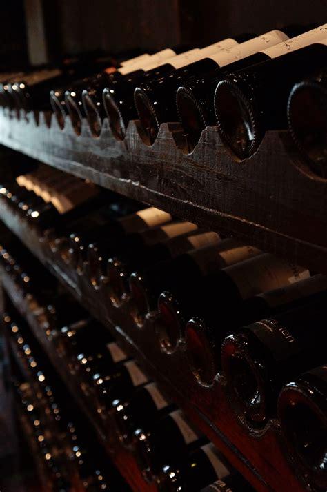 wine glass bottle  stock photo