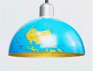 Lampe Globe Terrestre : faire une lampe pour chambre d enfant ~ Teatrodelosmanantiales.com Idées de Décoration