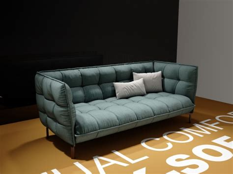 husk sofa hs  model bb italia italy