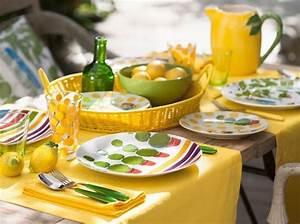 Décoration D Été : d co de table 50 id es pour l 39 t elle d coration ~ Melissatoandfro.com Idées de Décoration