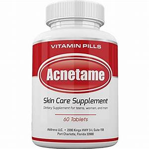 Acnetame- Vitamin Supplements for Acne Treatment, 60 ...