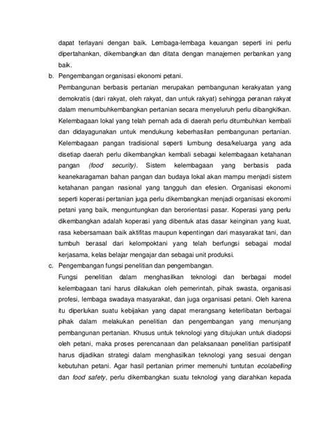 Sektoral Perekonomian Indonesia