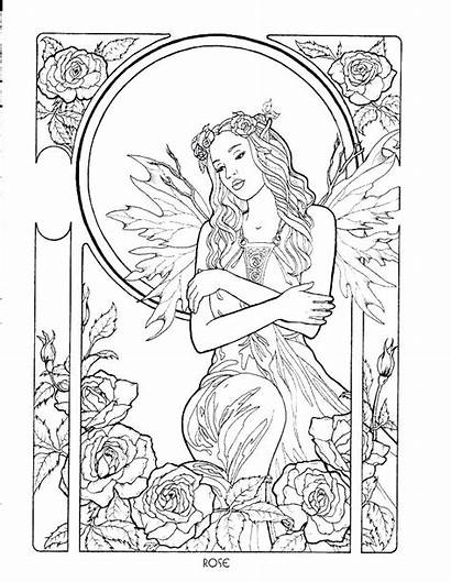 Fantasy Coloring Pages Detailed Printable Final Getcolorings