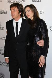 Paul McCartney Photos Photos - Paul McCartney and Fiance ...