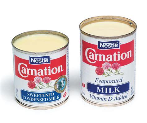 evaporated milk condensed milk vs evaporated milk finecooking