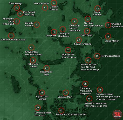 Fallout 4 Explorable Map Size Finally Detailed, 382