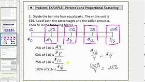 Solve Basic Percent Problems Using A Tape Diagram  Bar