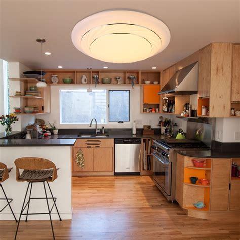 led ceiling light flush mount fixture lamp kitchen bedroom living room  ebay