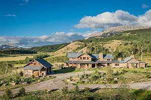 Rustic-modern mountain ranch nestled in the rugged Montana