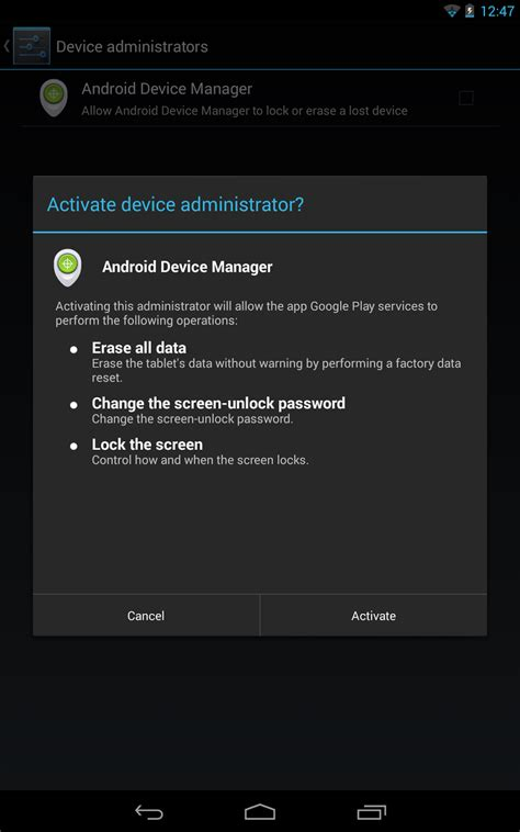 android device manager app now find your lost phone using s android device