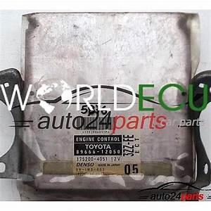 Ecu Engine Controller Toyota Corolla 1 6 89666