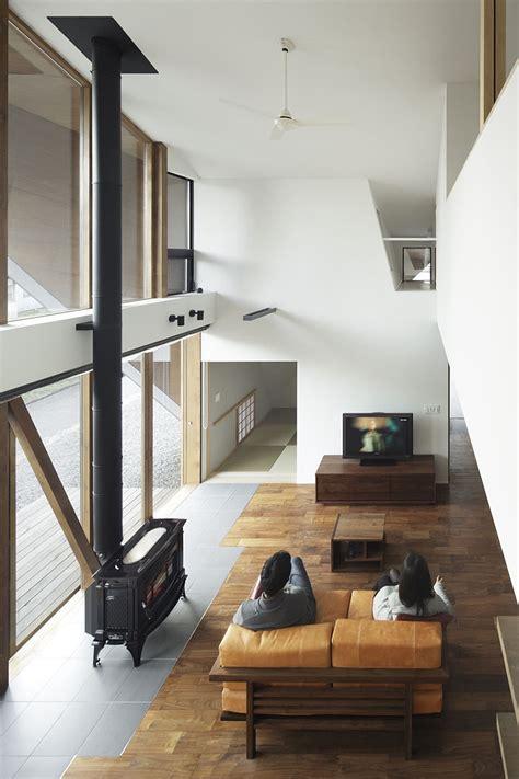 creative origami house japan combines distinct silhouette modern minimalism