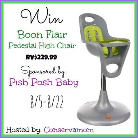 Boon Flair High Chair Canada by Boon Flair Pedestal High Chair Giveaway Mumblebee Inc