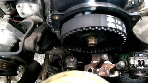 service manual  hyundai elantra   remove timming
