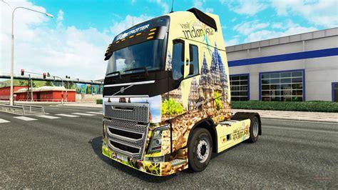 indonesia skin  volvo truck  euro truck simulator