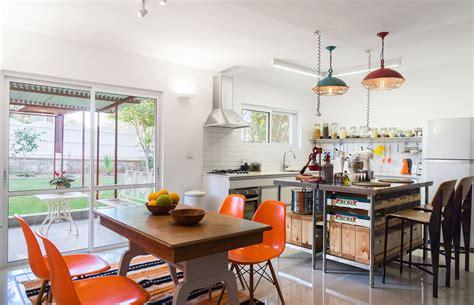 vintage style kitchen mixes retro decor  industrial
